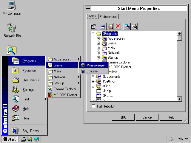 calmira windows 3.1